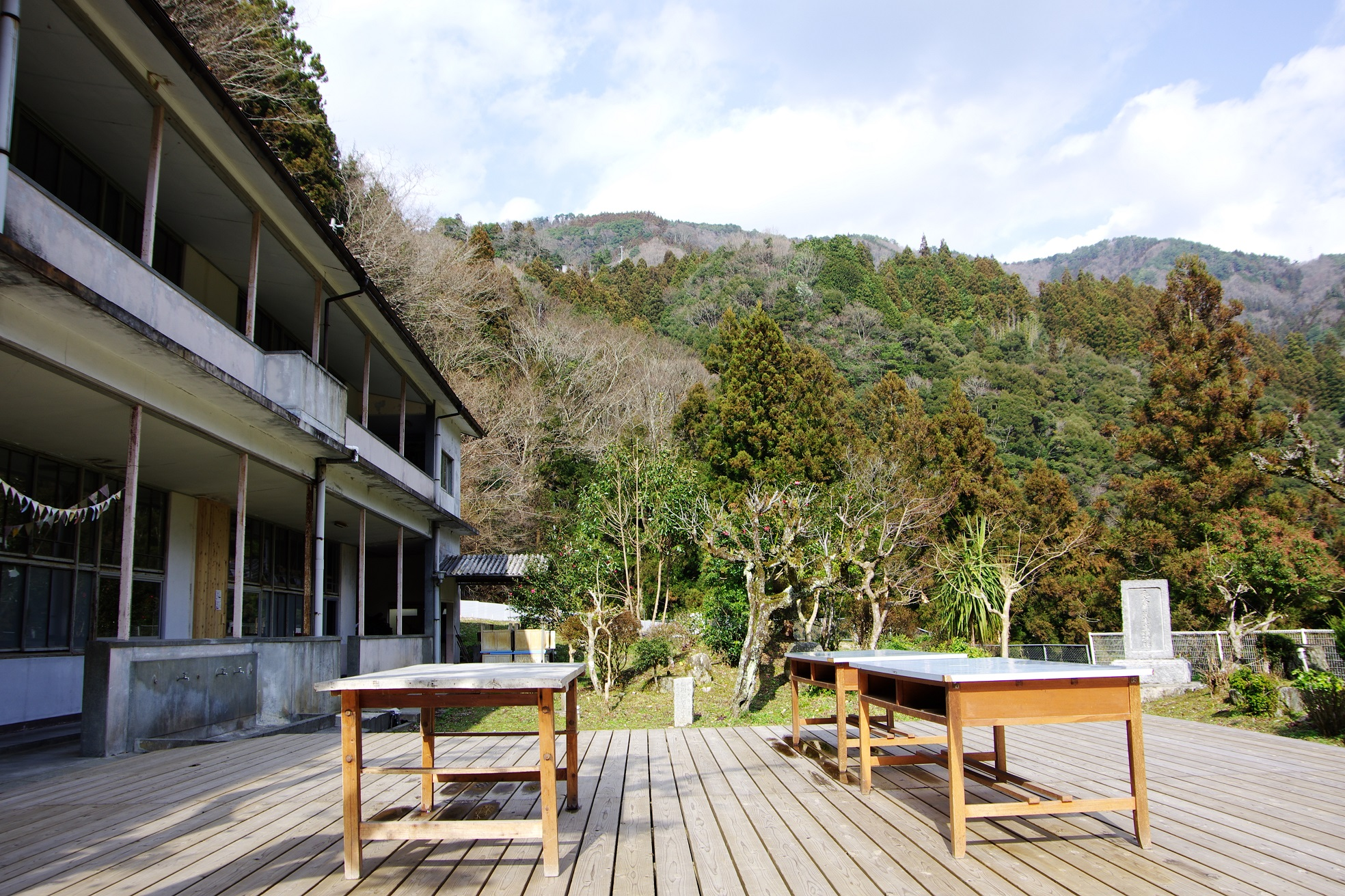 アラフォー突入記念(じゃなくて仕事で)池田の廃校カフェに行ってきた