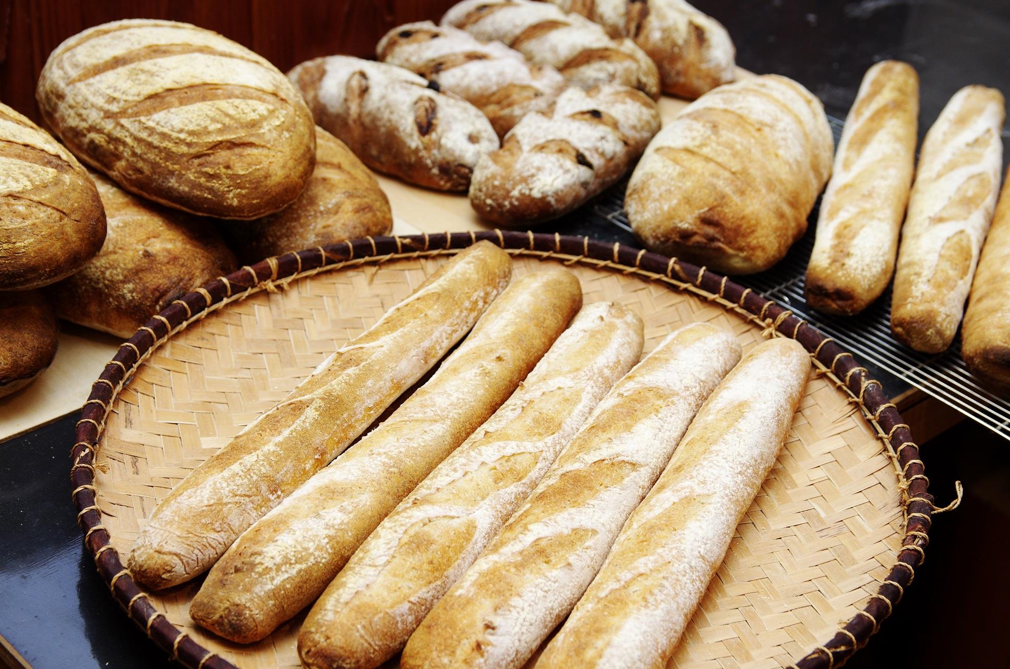 小麦ってこんなに美味しくて香りがいいんだ!感動を約束するオーガニックパン