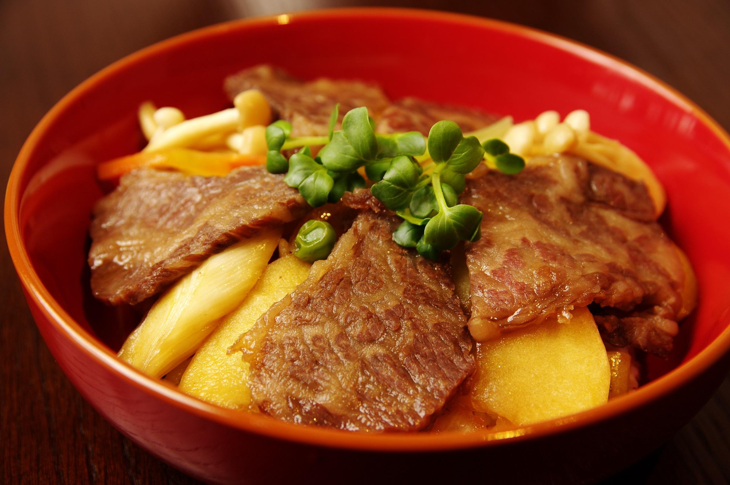 脂肪を燃焼しながら食べる極上カルビ丼とは、これ如何に!?