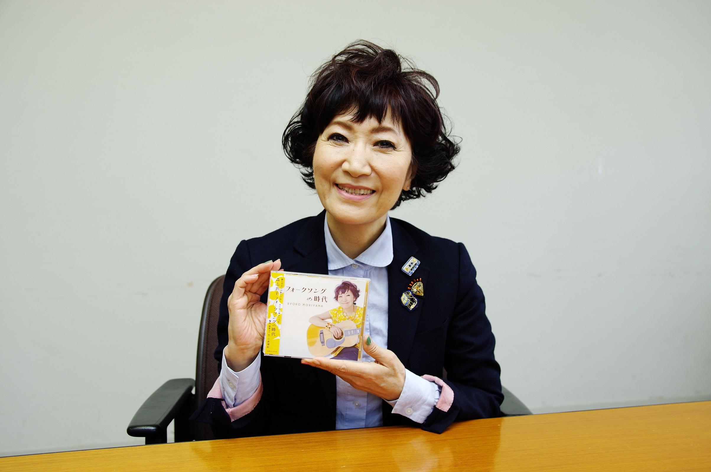 日本が誇るトップシンガー・森山良子さんにインタビューしてきた!