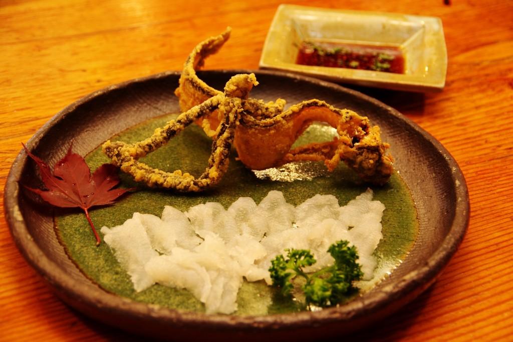 見た目はアレですが江戸では高級魚!幻の魚・ギンポウを海賊居酒屋で食す