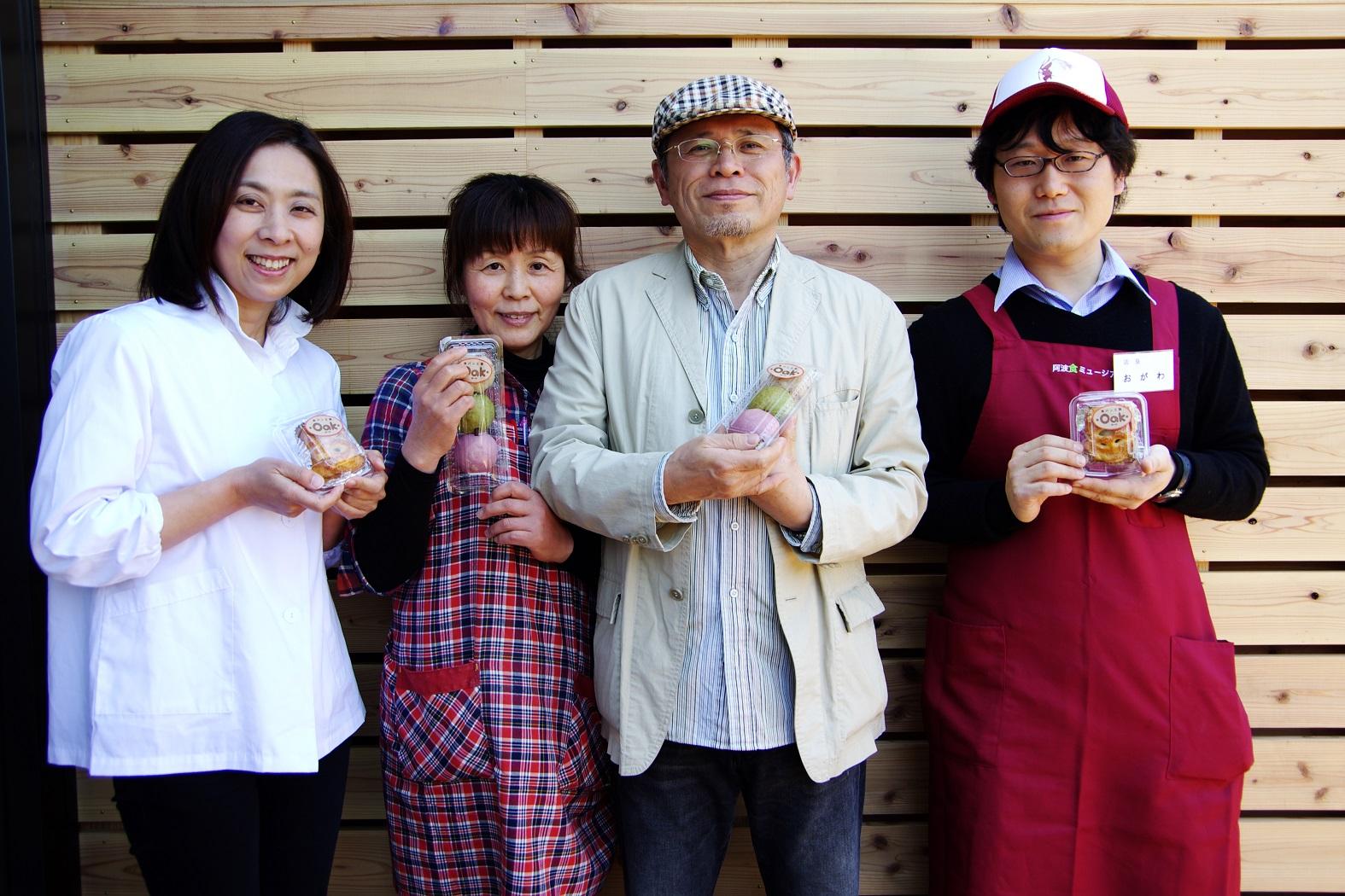 いよいよ発売スタート!「川田まんぢう」×「Oak」のコラボ・まんぢうパン