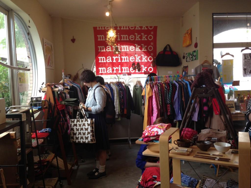 ファンならずとも行くべき!沖浜の雑貨店で「マリメッコ古着市」が開催中でっす