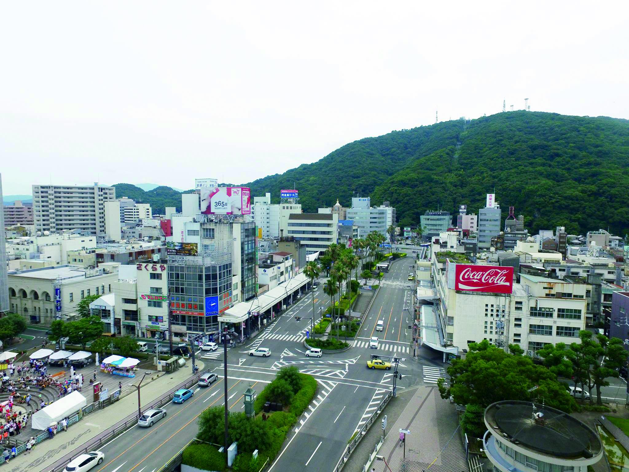 新町橋ストリートがイベント会場に!「Tokushima SYMBOL PARK2015」開催!