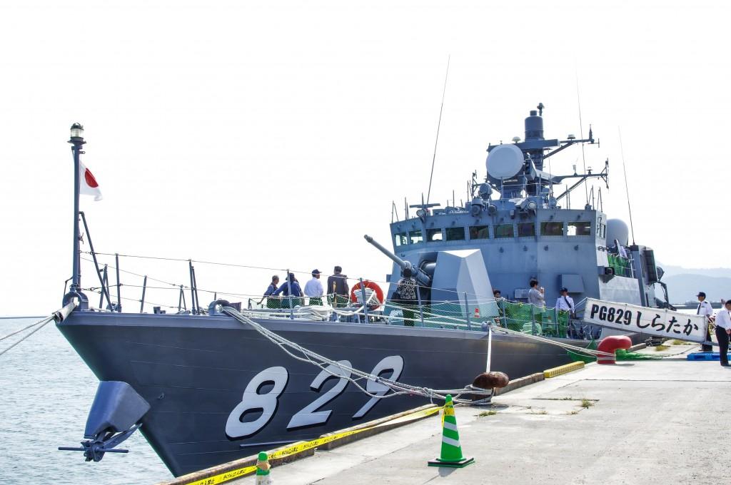 徳島初入港! ミサイル艇一般公開に、にわか艦好き女子が行ってきた
