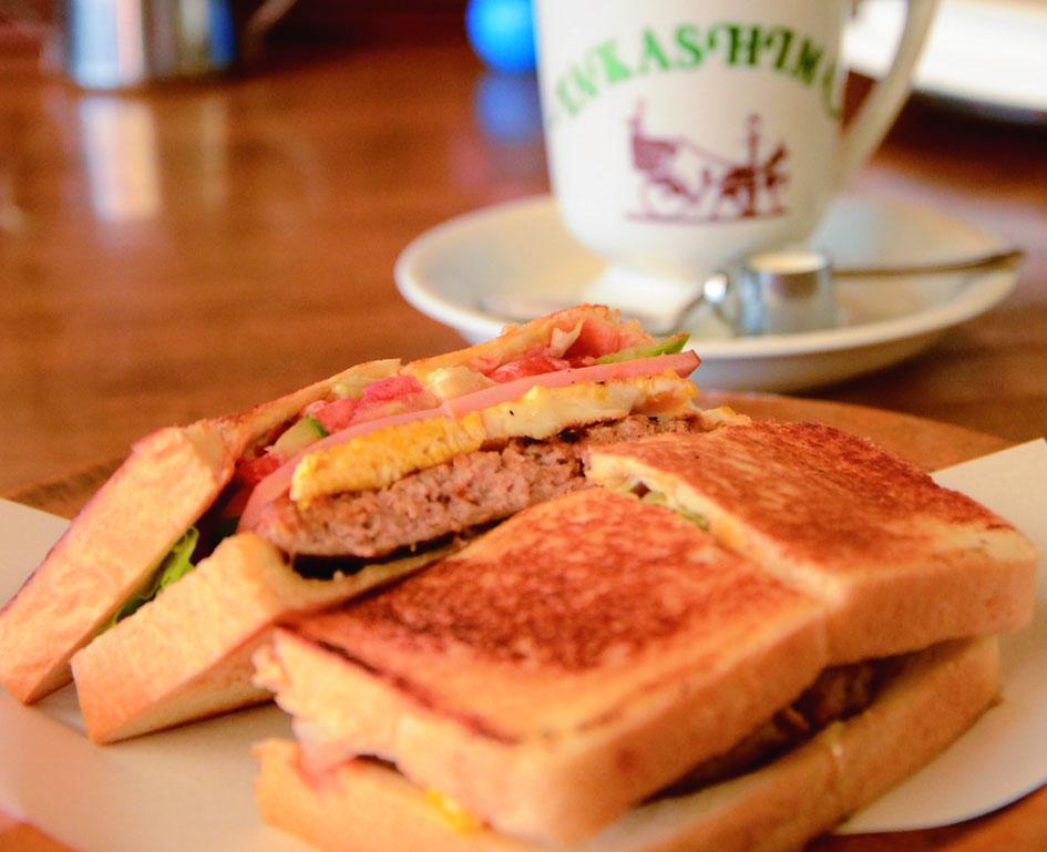 県外進出依頼もあった徳島の名喫茶『たかしまコーヒー』で名物サンドイッチを食す