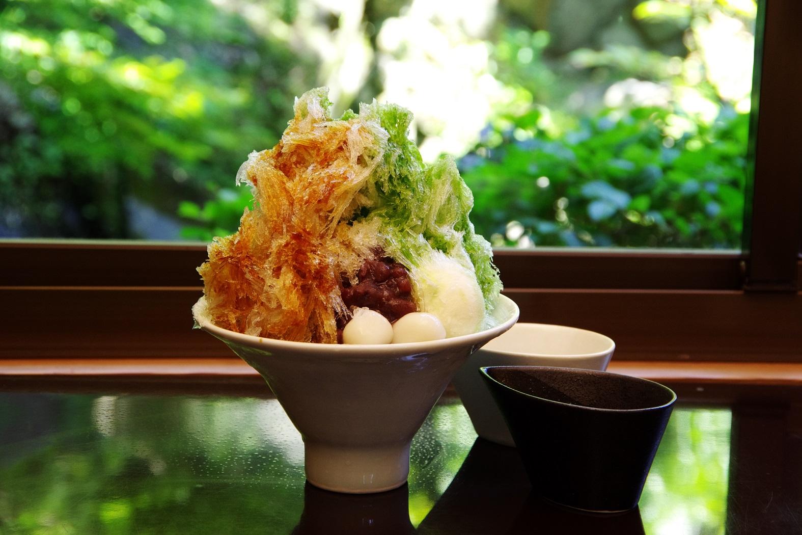 """夏季限定!徳島市「和田の屋」で""""大人のかき氷""""で美味しく涼みました"""
