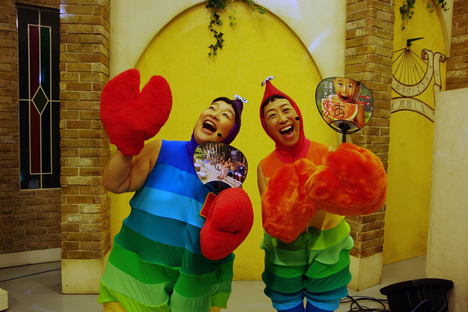 8月12日配布!あわわウチワと有名人・徳島の名所の写真を撮ろうー!
