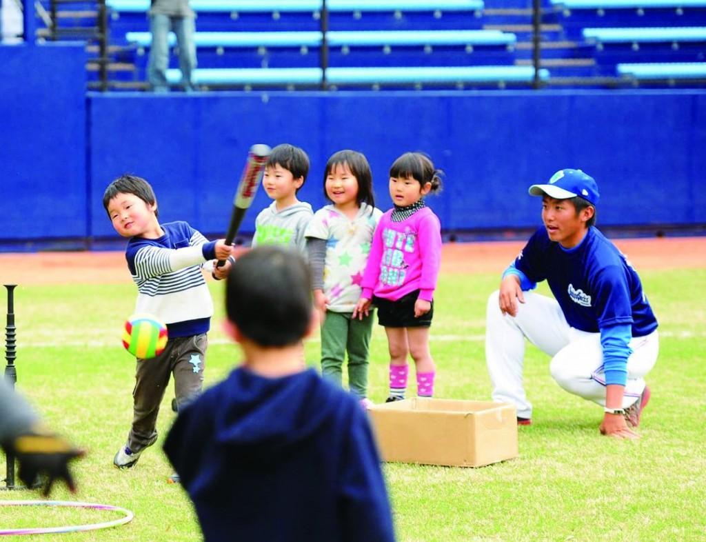 野球のまち阿南で、野球体験・技術向上のためのイベント開催!