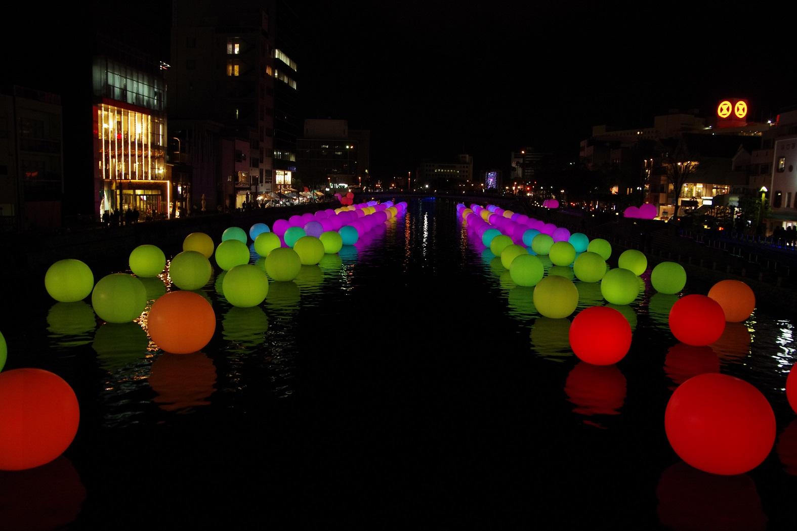 絶対SNS映えする「徳島LED ART FES」にAFOがHTRで行ってきた