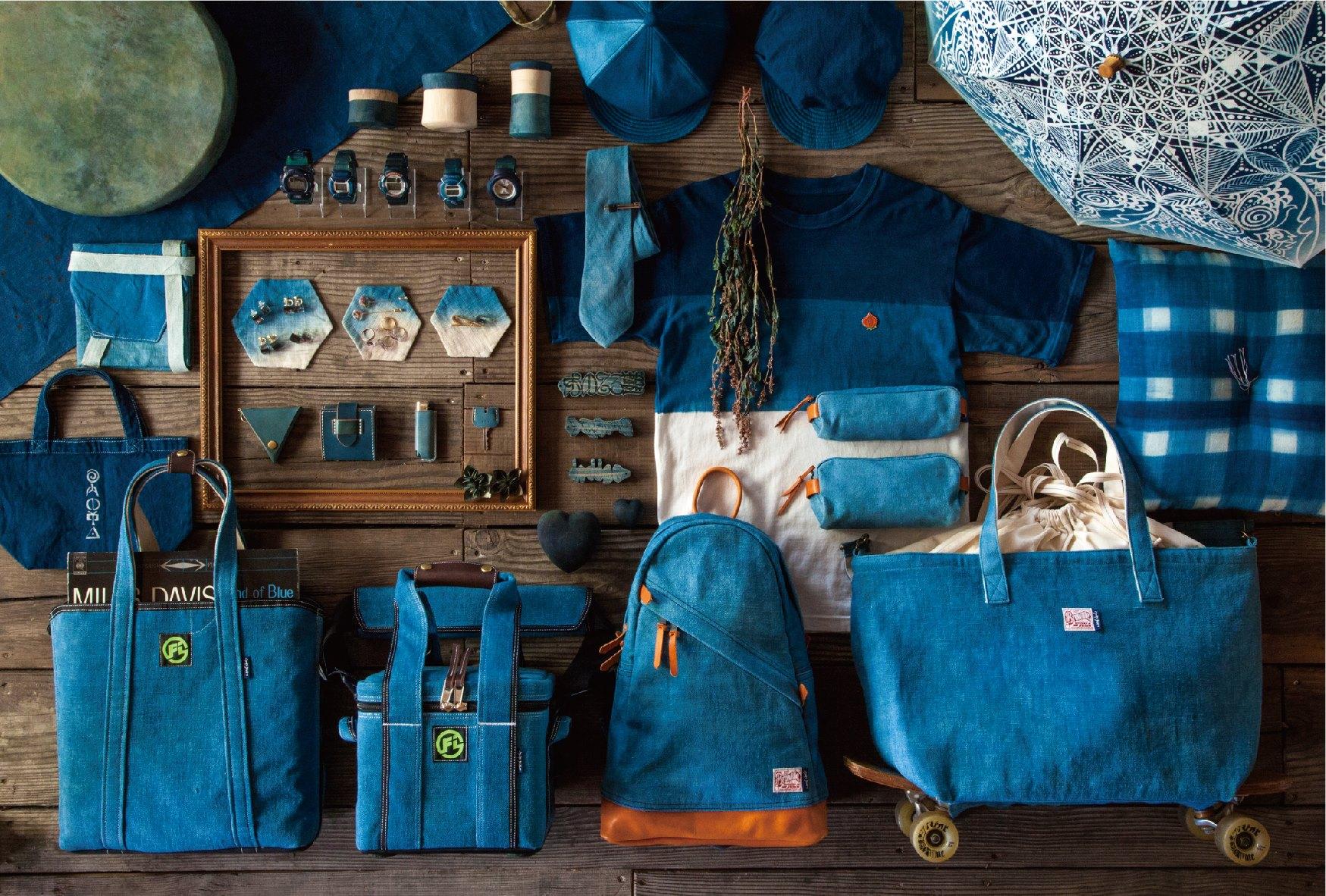 藍に魅せられた夫婦の展示販売会『Blue floating in space』