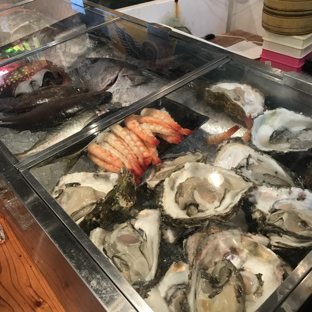 本日オープン!徳島駅前で活きのいい魚を食べるなら「活魚水産」やっ!