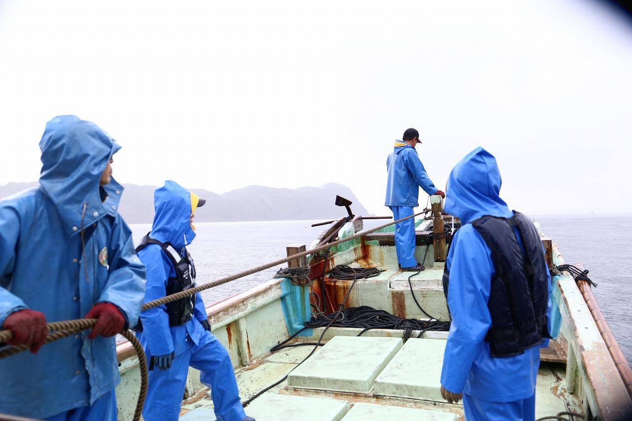 徳島の海で漁師になりたくて @椿泊漁港
