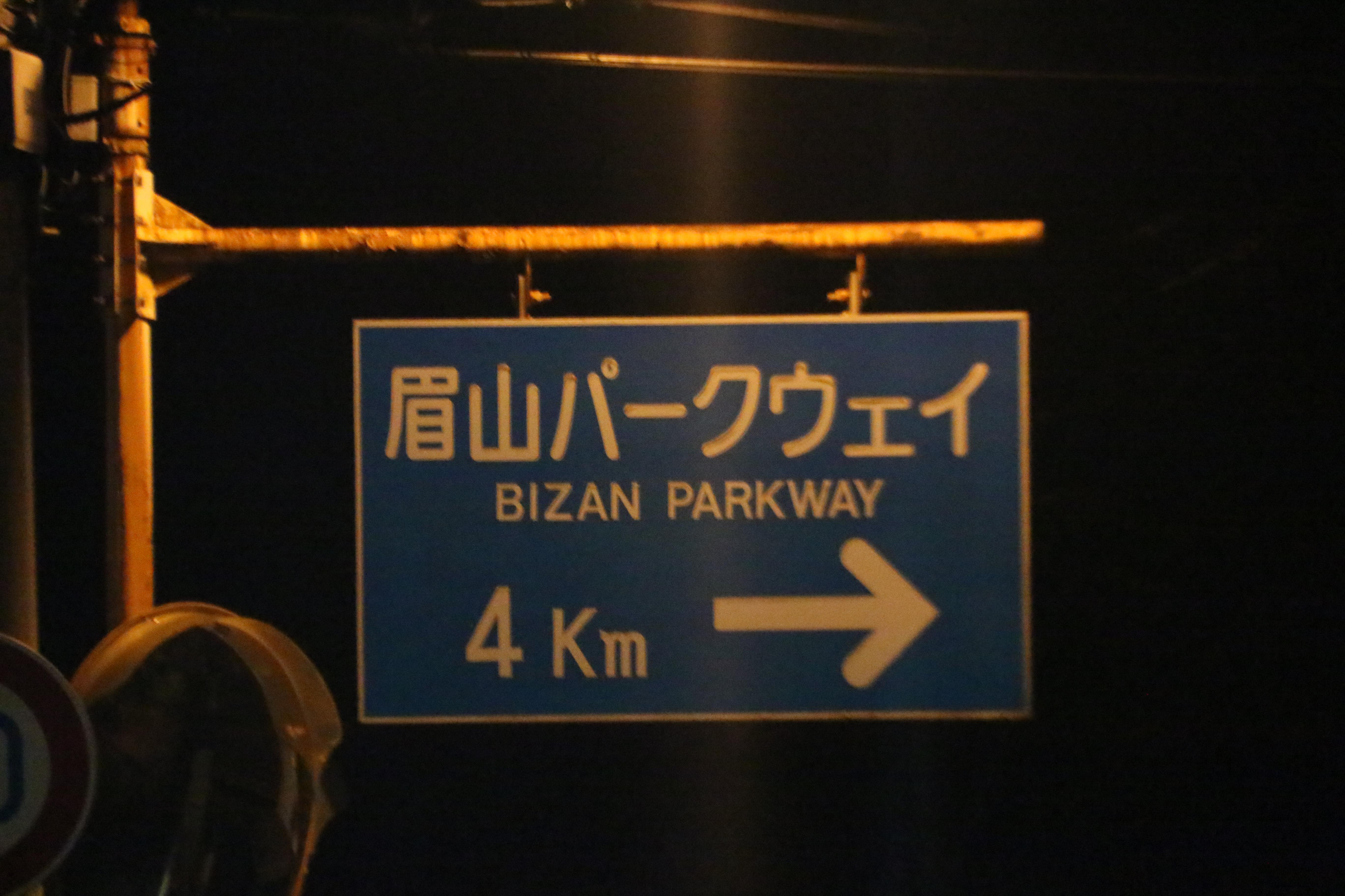 徳島定番のデートスポットとされている  眉山山頂(夜)に行ってみた。