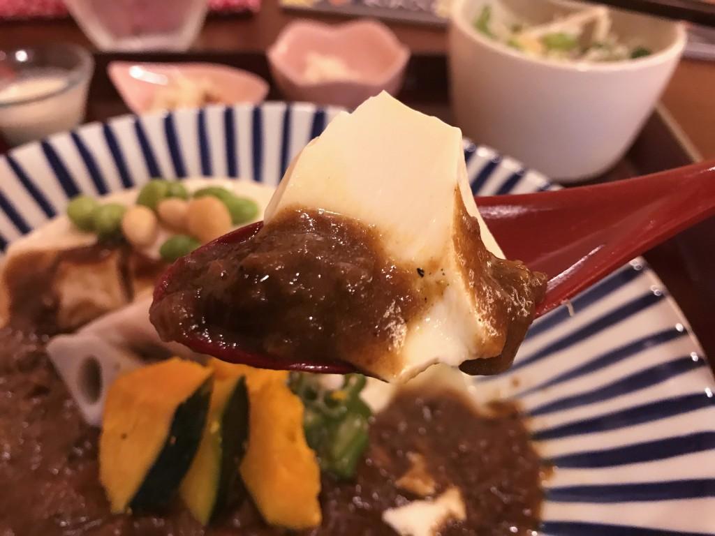 カレーが豆腐に着替えたら… 『とうふ屋』さんの豆まめカレー の巻