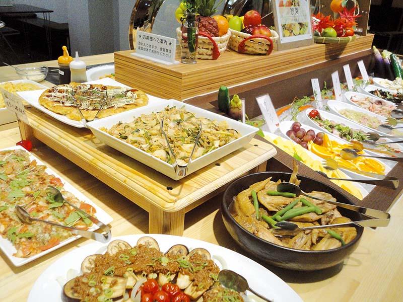 《徳島市/たいよう農園》こだわり食材のバイキング 食事だけでも大歓迎の徳島県庁前のホテル『たいよう農園』