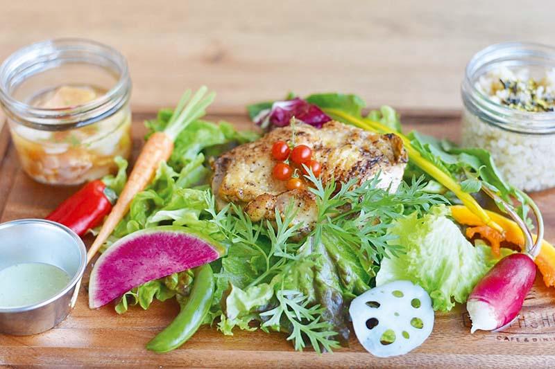 《徳島市/ノースショア》フレッシュ野菜がおいしく可愛く食べられる! 今トレンドのカフェ・ダイニング