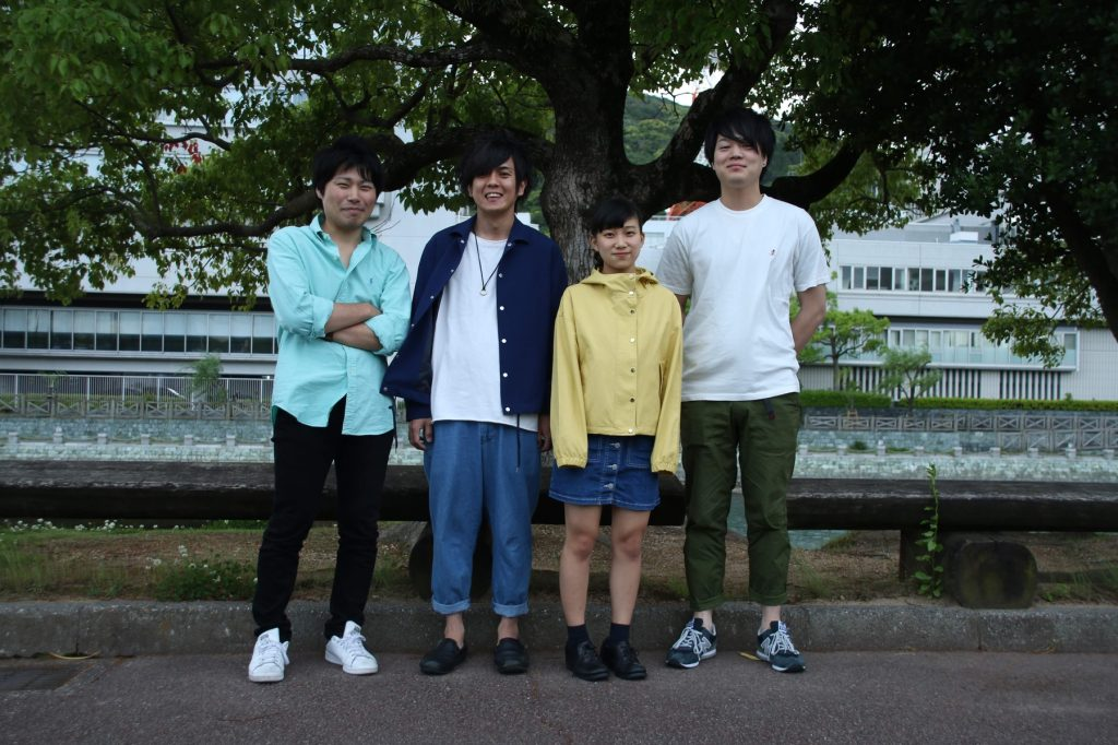 2ndミニアルバム発売!!大阪ワンマンライブを控えた徳島発・期待のロックバンドPOLUにインタビューしてきました!!