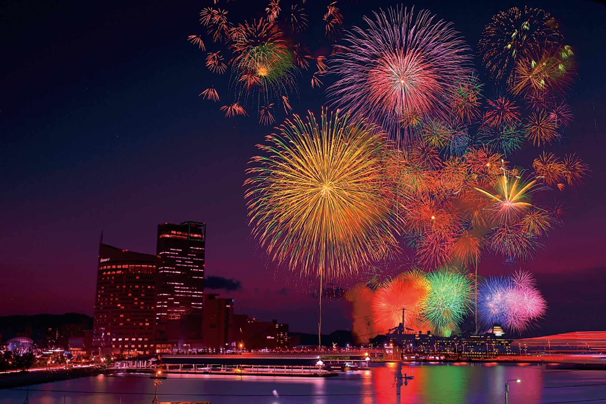 ドドドドッカ~ンと夏を楽しもう! 全力花火ガイドin徳島