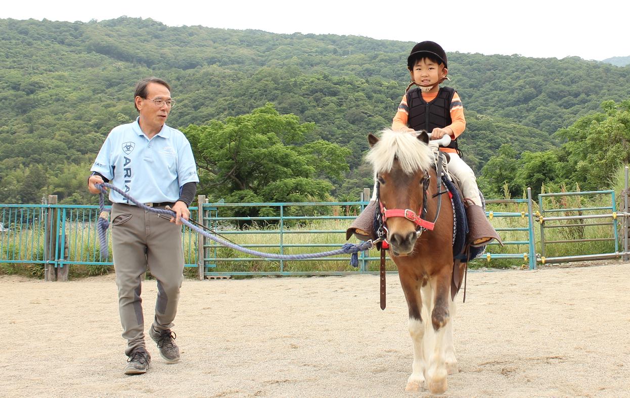 こどもの乗馬デビューにぴったり! 8月限定のイベント開催