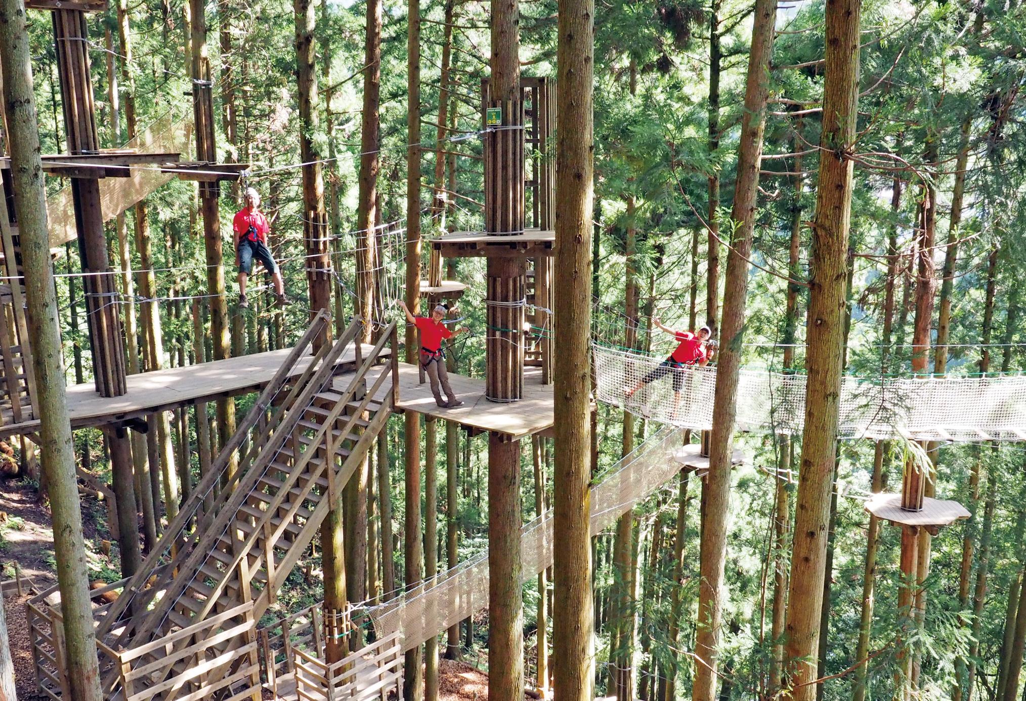 TOKUSHIMAのアウトドア&レジャー3選。スリル&アクティブ&エンジョイ! 徳島にこんな楽しいトコロ、あったんだ!! 大自然で遊びまくろう♪