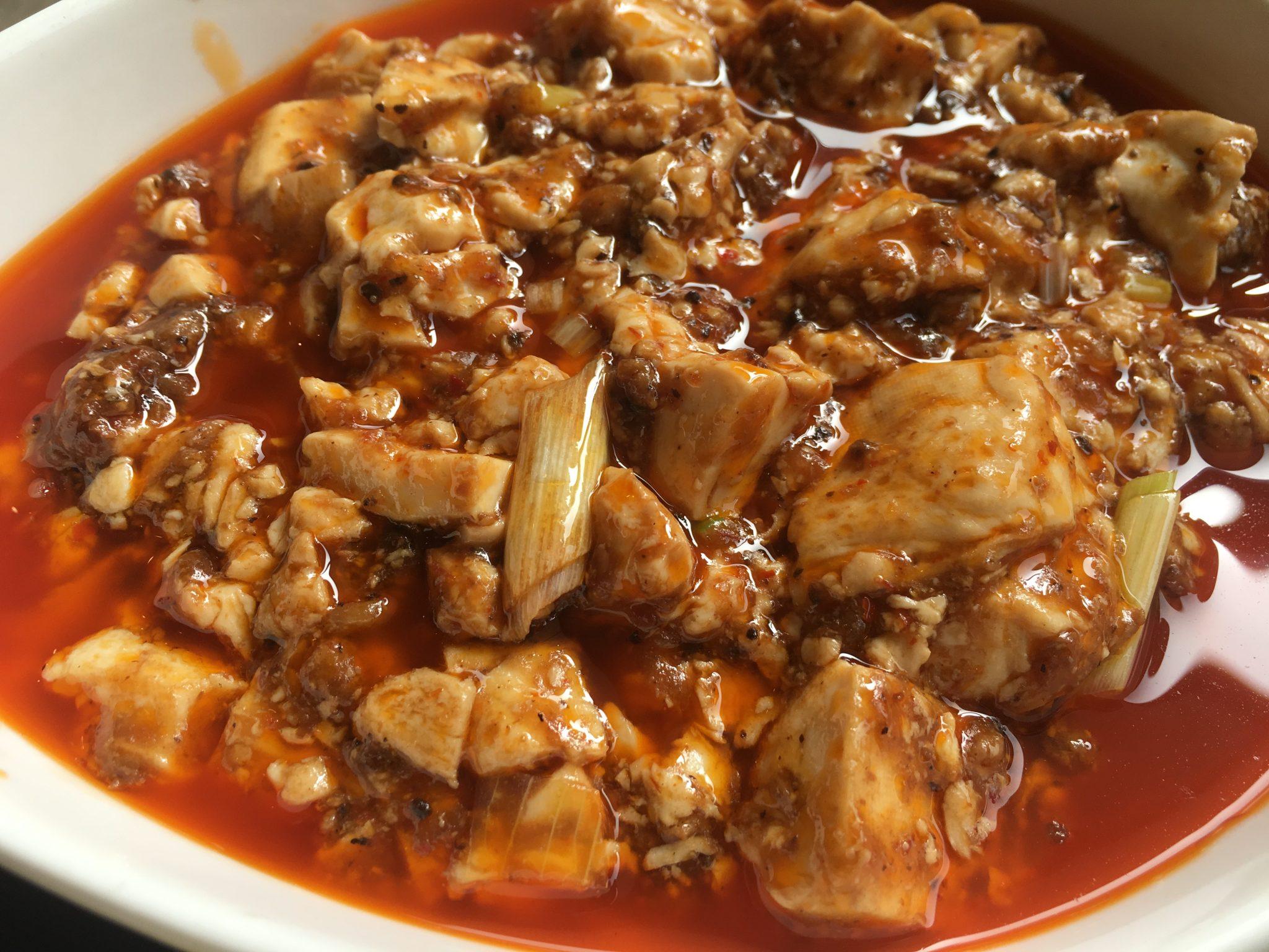 《阿南市/神龍(XENLON)》平凡な毎日にちょっとした刺激を!うま辛麻婆豆腐で温まってきました!