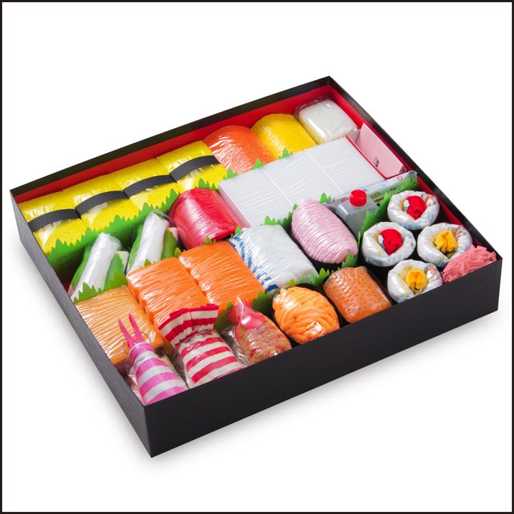 元モー娘・辻ちゃんの出産祝いに2度選ばれた出産祝いギフトおむつ寿司!