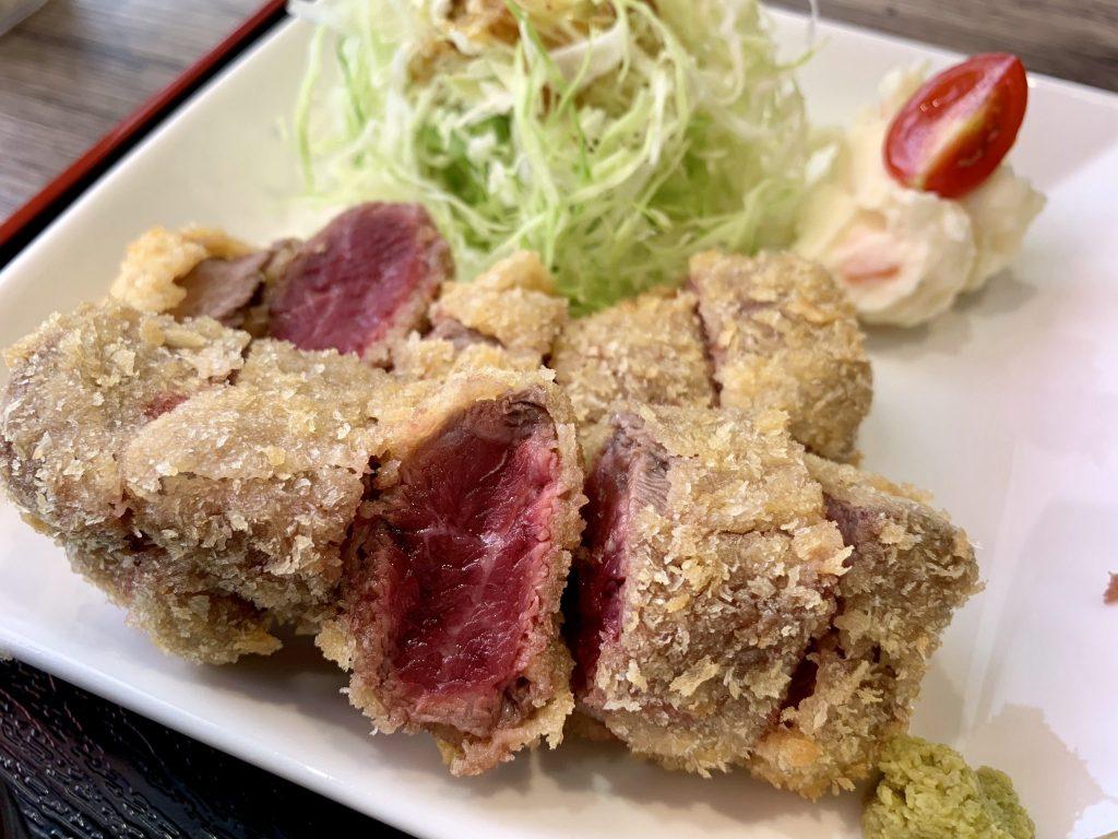《徳島市/牛カツcafe Dress》体力つけて風邪を吹き飛ばせ~!牛カツ食べて元気いっぱい!!