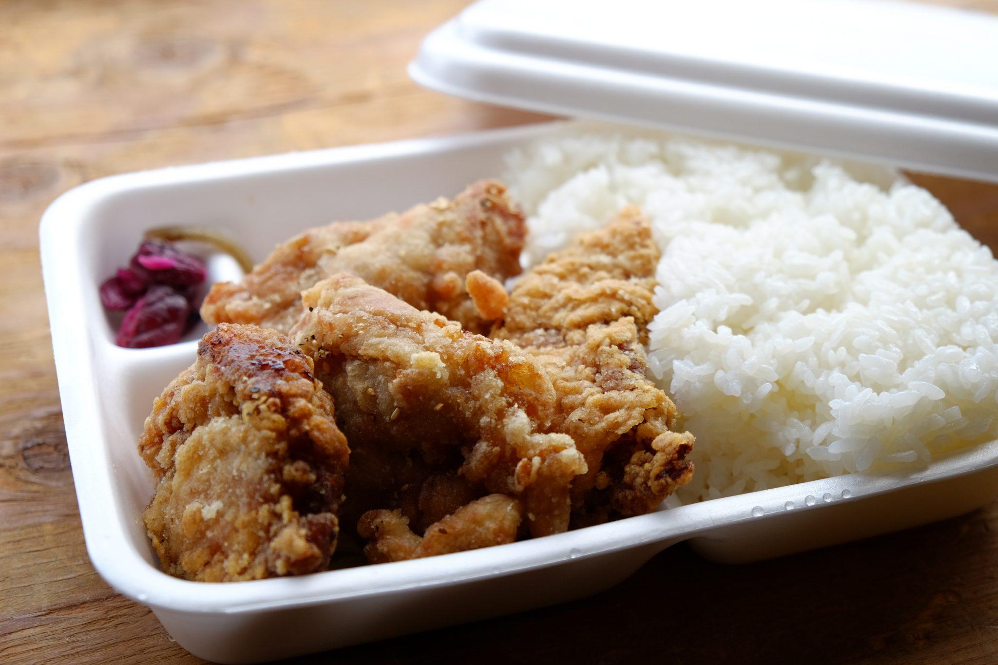 《徳島市/かたに商店》【食べ過ぎ注意!】ご飯特盛ぐらいが丁度イイからあげ