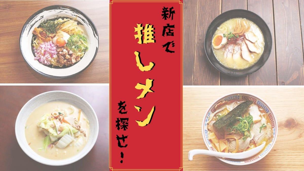《まとめ》新店で推しメンを探せ!徳島のうまいラーメン4選
