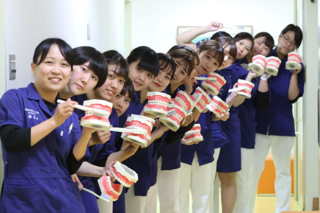 《オープンキャンパス/高校生》歯科衛生士のおしごと体験をしてみよう!