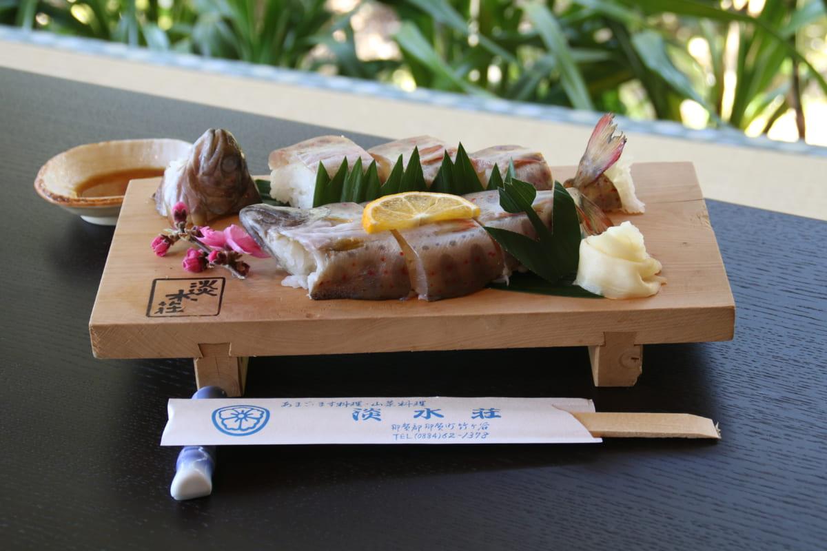 【那賀町】手ぶらで散歩花見!美しい桜とおいしい魚のダブル幸せが味わえる淡水荘!