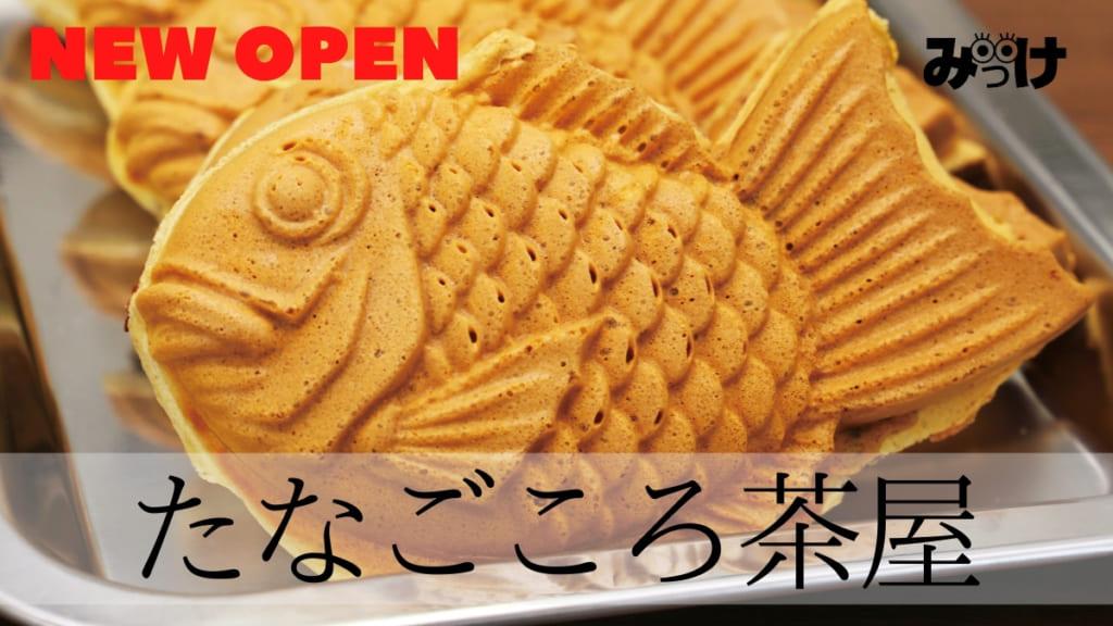 【10月OPEN】たなごころ茶屋(鳴門市撫養町)あんこ、クリーム、ウインナー!? たい焼きのラインアップにご注目
