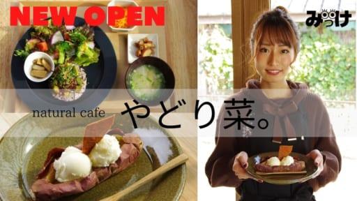 【12月OPEN】「#徳島カフェ」おいしくて体にやさしい料理やスイーツ、そして美人店長が話題!「natural cafe やどり菜。」