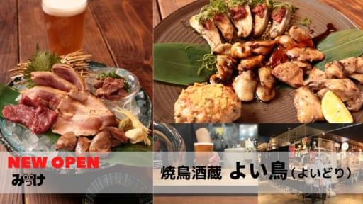 【10月OPEN】焼鳥酒蔵 よい鶏(徳島市寺島本町西)3種類の鶏料理とクラフトビールで乾杯! サブスクで平日ビールが1杯無料!?