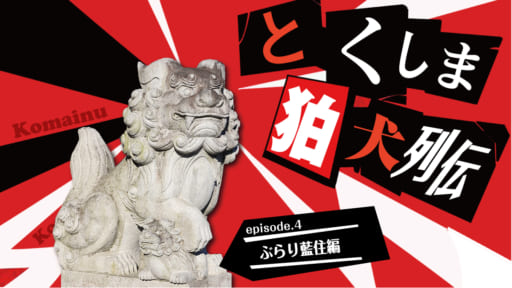 《徳島探訪》とくしま狛犬列伝  ぶらり藍住編