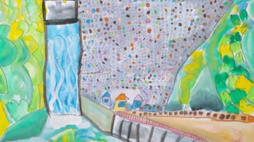 企画展示「森と湖のある風景画コンクール作品展」