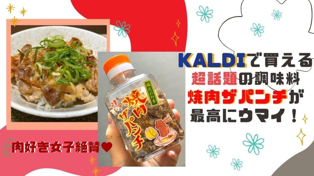 《徳島の肉/番外編②》肉好き女子絶賛☆KALDIの超話題の調味料[焼肉ザパンチ]が最高にウマイ!