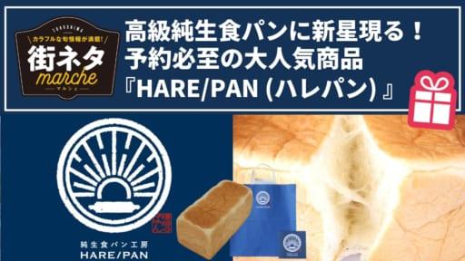 【街ネタ】高級純生食パンに新星現る!予約必至の大人気商品『HARE/PAN(ハレパン)』に密着!(徳島市沖浜)